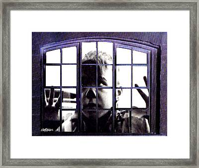 Let Me In Framed Print by Seth Weaver
