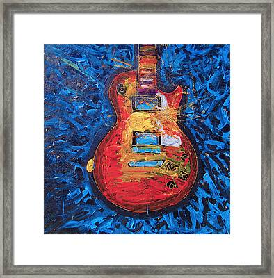 Let Me Play Your Les Paul Framed Print