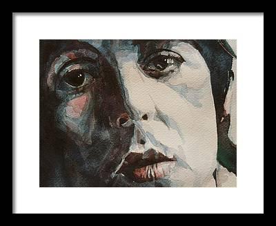 Rock Paul Mccartney Framed Prints