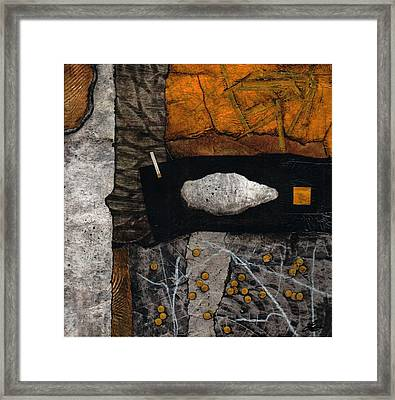Let Nature Enter Your Body  Framed Print