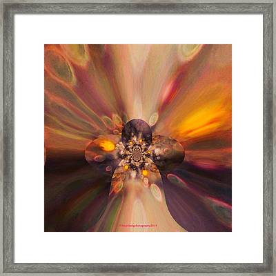 Let Self-love Enhance Your Inner Beauty Framed Print by Tanya Levy