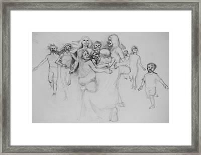 Let The Children Come Framed Print