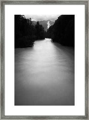 Let The Light Flood In Framed Print