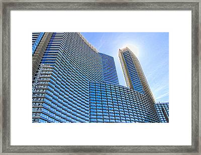 Let The Sun Shine Framed Print by Tammy Espino