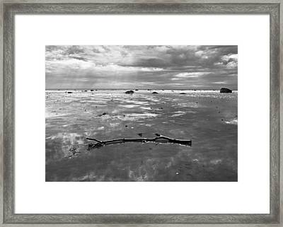 Let There Be Light Framed Print by Arkady Kunysz