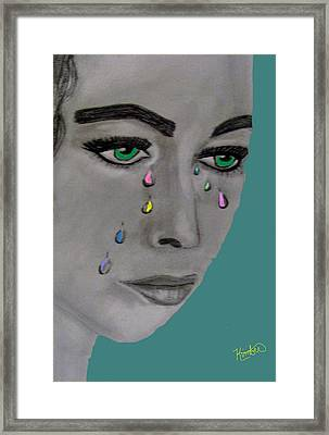 Let There Be Tears Framed Print