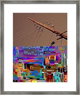 Let Uncertainty Show Value 2013 Framed Print by James Warren