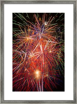 Let Us Celebrate Framed Print