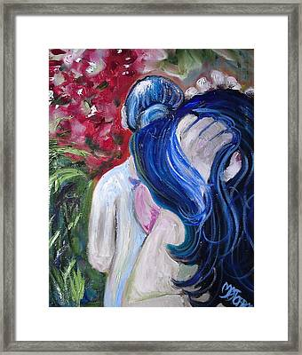 Let Your Hair Down Framed Print by Melissa Torres