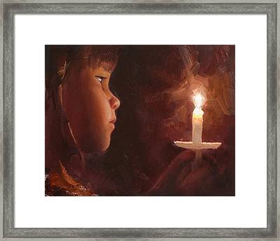 Let Your Light Shine 1 Framed Print