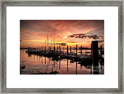 Framed Print featuring the photograph Let Your Light Shine by Phil Mancuso