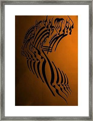 Let Your Spirit Fly Framed Print by Mah FineArt