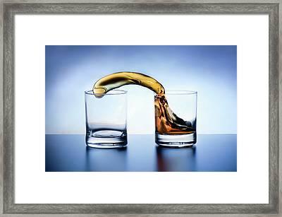 Let\'s Share A Whiskey Framed Print