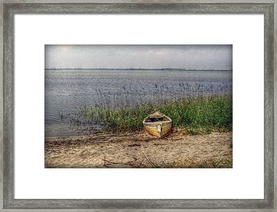 Framed Print featuring the photograph L'etang by Hanny Heim