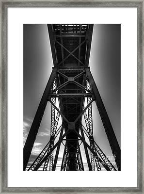 Lethbridge High Level Bridge 4 Framed Print by Bob Christopher