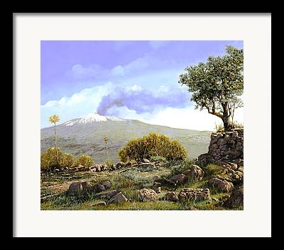 Sicily Paintings Framed Prints
