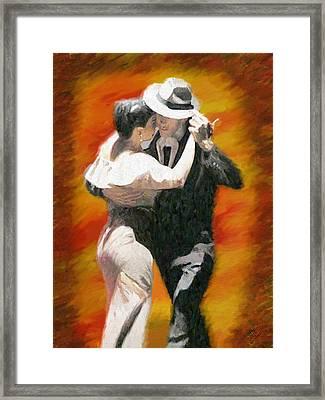 Let's Dance Framed Print by James Shepherd