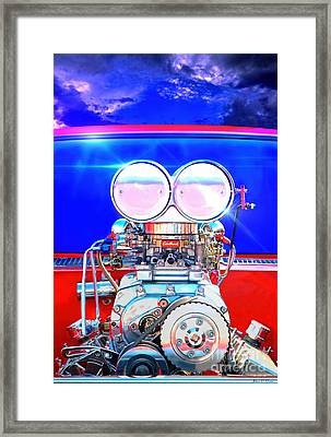 Lets Drag Framed Print