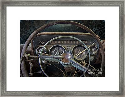 Let's Drive Framed Print