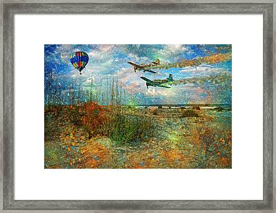 Let's Fly Framed Print
