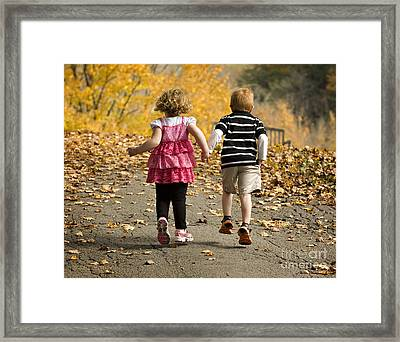 Framed Print featuring the photograph Let's Get Out Of Here by Carol Lynn Coronios