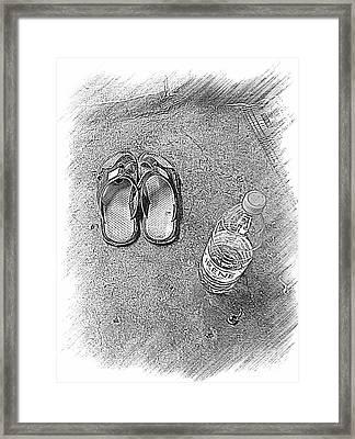 Let's Go Again Framed Print by Fania Simon