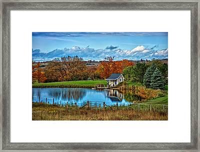 Let's Go Fishing Framed Print by Jeff S PhotoArt