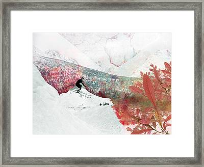 Let's Go Skiing Framed Print by Pati Photography