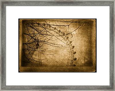 Let's Go Up Framed Print by Vessela Banzourkova