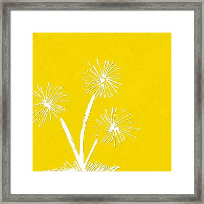 Let's Make A Wish Framed Print by Bonnie Bruno