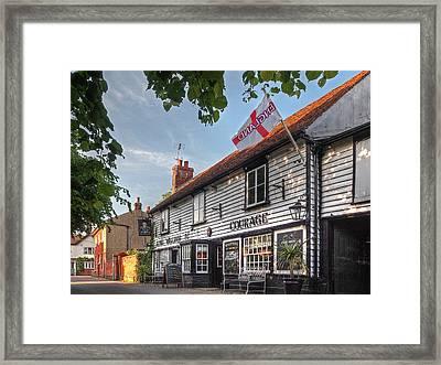 Let's Meet For A Beer - King William Iv Pub  Framed Print by Gill Billington