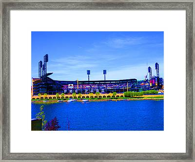 Lets Play Ball  Framed Print by Joseph Wiegand