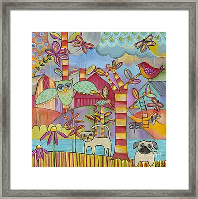 Let's Play Framed Print by Carla Bank