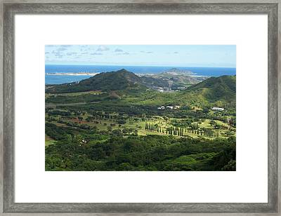 Let's Play Golf Framed Print