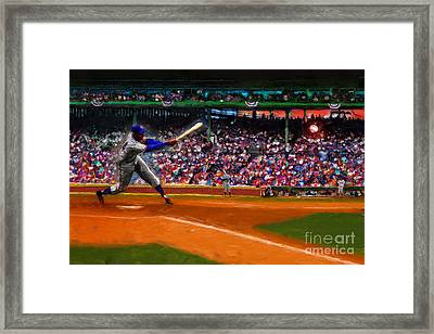 Let's Play Two Framed Print by Alan Greene