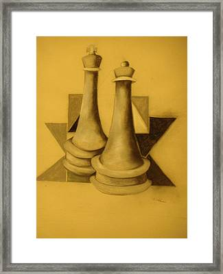 Lets Play Framed Print by William Larkins
