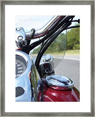 Let's Ride Framed Print by Angelia Hodges Clay
