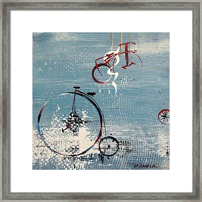 Let's Ride II Framed Print by Vivian Mora