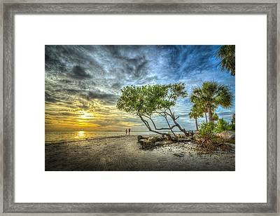 Let's Stay Here Forever Framed Print by Marvin Spates