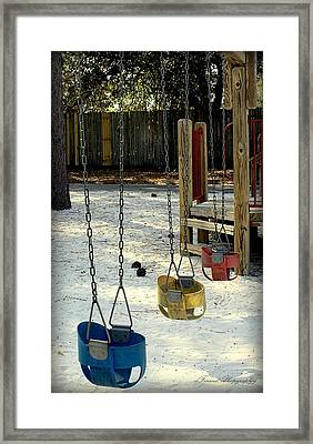 Let's Swing Framed Print