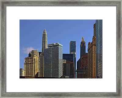 Let's Talk Chicago Framed Print