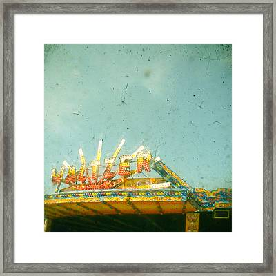 Let's Waltz Framed Print by Cassia Beck