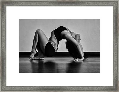 Letter M Framed Print by Monte Arnold