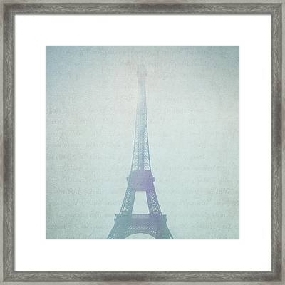 Letters From Paris Framed Print