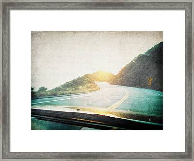 Letters From The Road Framed Print