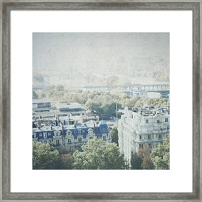 Letters From The Seine - Paris Framed Print