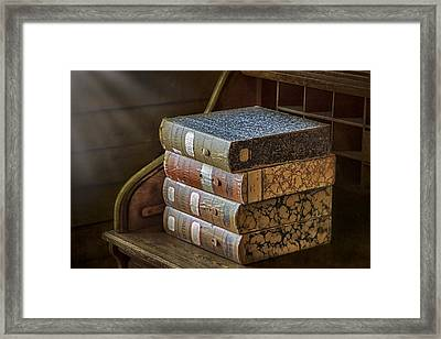 Letters Framed Print by Susan Candelario