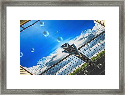 Letting Go Framed Print by Wendy J St Christopher