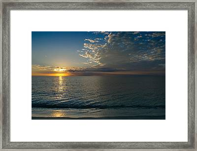 Framed Print featuring the photograph Letting The Light In by Melanie Moraga