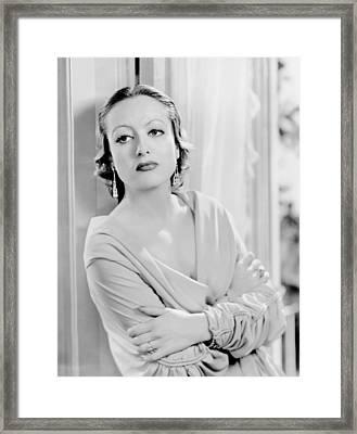 Letty Lynton, Joan Crawford, 1932 Framed Print